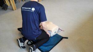 Førstehjælpsundervisning, Hjertelungeredning (BLS-AED)