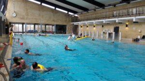 rescue board og torpedotræning, åbent vand underviserprøven