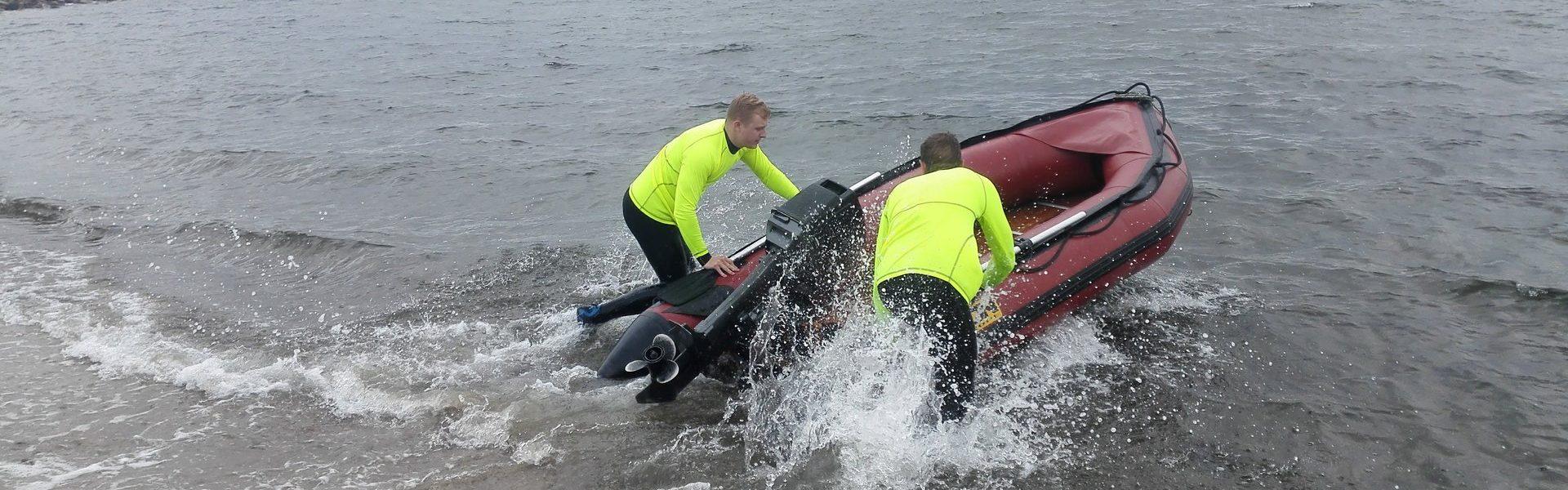 Bådtræning - Livredderklub Midtjylland