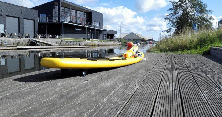 Rescue board med udstyr - Livredderklub Midtjylland