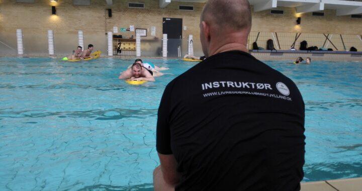 boardtræning, åbent vand underviserprøven